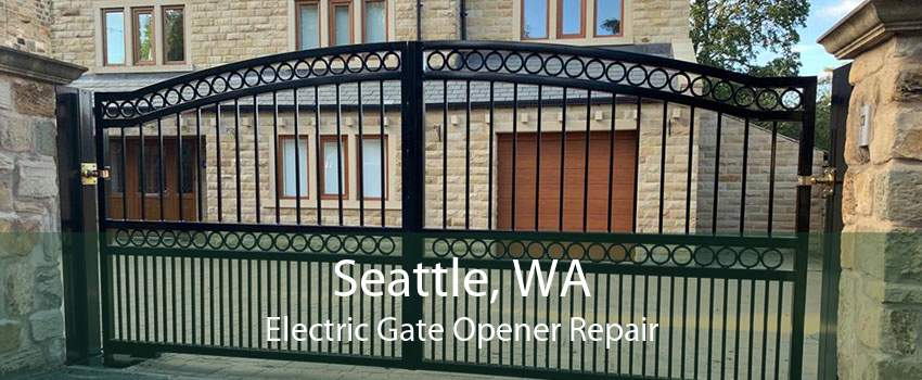 Seattle, WA Electric Gate Opener Repair