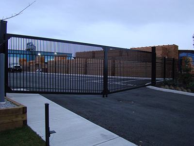best commercial gate installation in Seattle