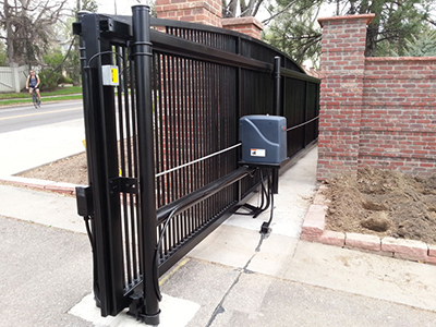 driveway gate opener installation service in Seattle